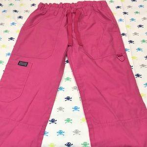 Pink Cherokee Scrubs